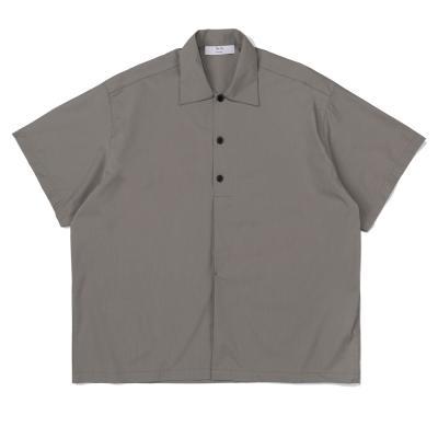 CB 하프 하이드 빅 셔츠 (카키)