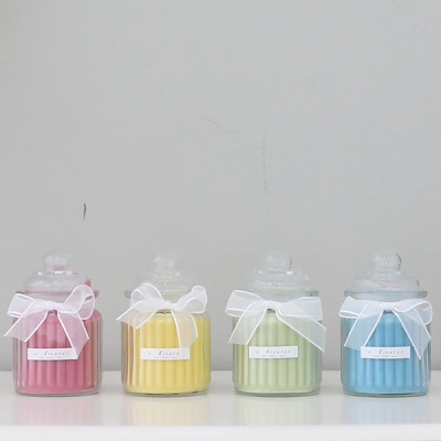 캔디 캔들 240g(핑크-체리블라썸)