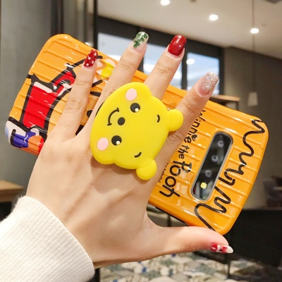 갤럭시s9/플러스 캐릭터 그립 핸드폰 거치세트 케이스