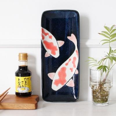 [2HOT] 아이카 직사각 잉어 생선접시
