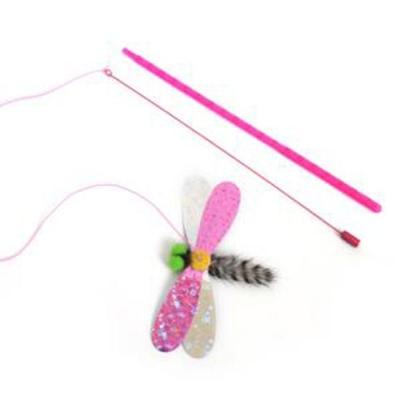 스윙캣 잠자리 고양이 놀이 낚시대 장난감