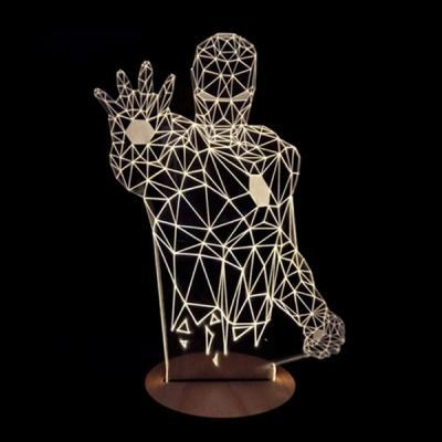 아이언맨 3D LED 무드등