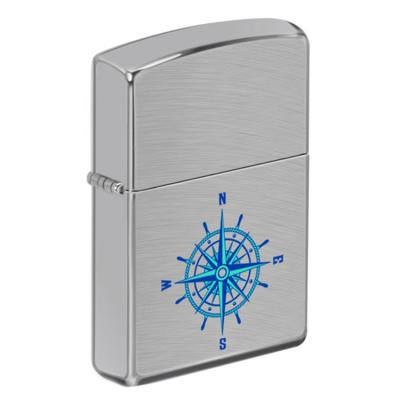 ZIPPO 라이터 49424 Brushed Chrome Color Image