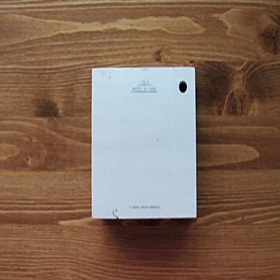 DESK MEMO PAD(L) WHITE