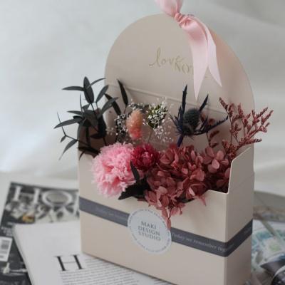 프리저브드꽃 포스트박스