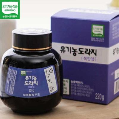 [유기가공인증] 도라지 복합청 220gx2병