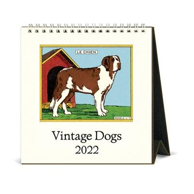 2022 데스크캘린더 Vintage Dogs