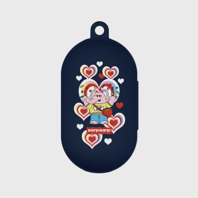 kkikki Jelly bomb-navy(buds jelly case)