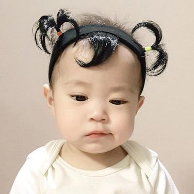 콩이밴드-아기위그밴드