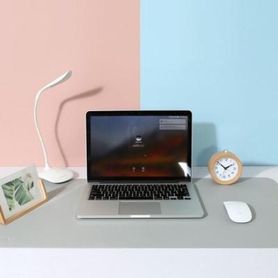 오피스 양면 심플 듀얼컬러 와이드 가죽 데스크 패드 W15F510