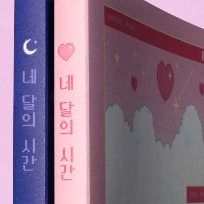 스터디플래너 네 달의 시간 - 핑크픽셀월드