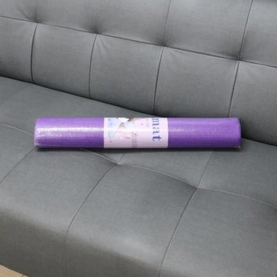 요가용품 요가매트 4mm 퍼플 운동매트 트레이닝매트