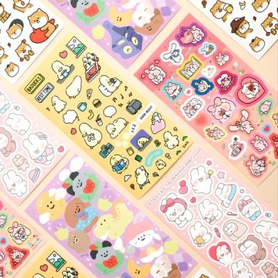 이모티콘 x 핫트랙스 에디션 스티커팩(5종)