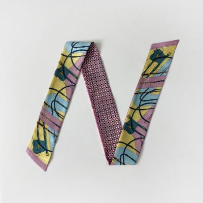 Silk Ray Petit Tie Scarf