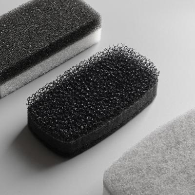 블랙 2겹 우레탄 수세미