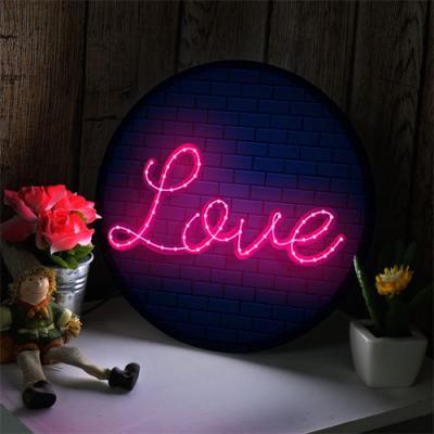 no148-LED액자25R_빛나는사랑
