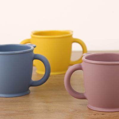 실리콘 베어 양손 컵 유아 아기 어린이집 물컵 SH008