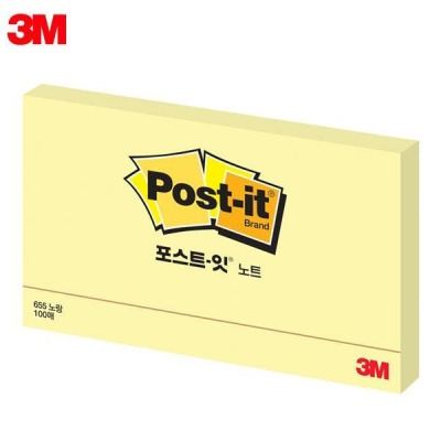 3M 포스트잇 일반형 655 [00031679]