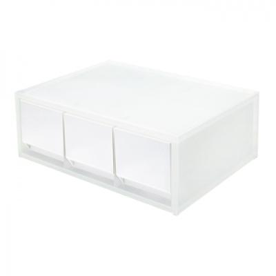 [카파맥스] 투웨이수납함 3단(흰색) 400108