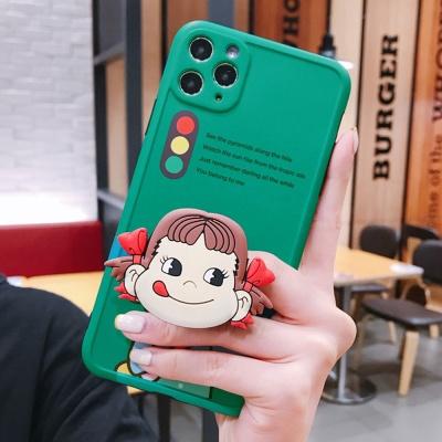 아이폰se2 11 pro max xr xs 소녀 그립톡 젤리 케이스