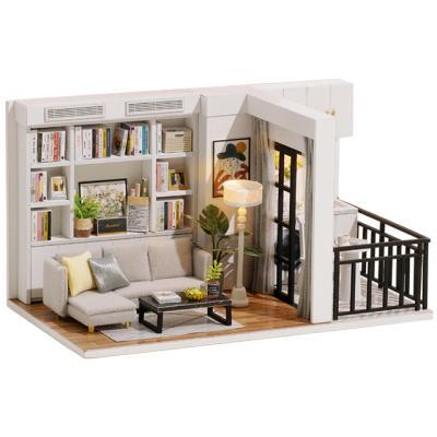 DIY 미니어처하우스 발코니 룸