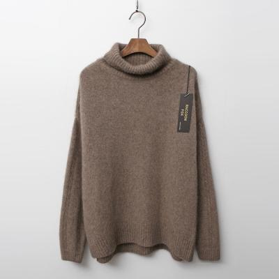 Raccoon Fox N Wool Twist Turtleneck Sweater