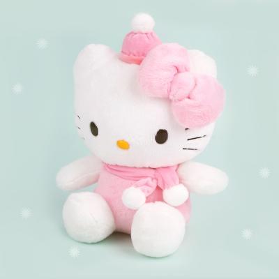 헬로키티 핑크목도리 인형