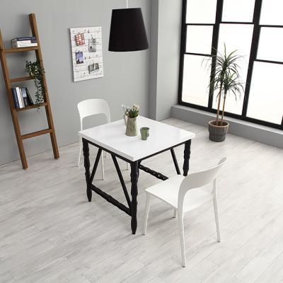 M6266 750 스틸 사출 카페 테이블