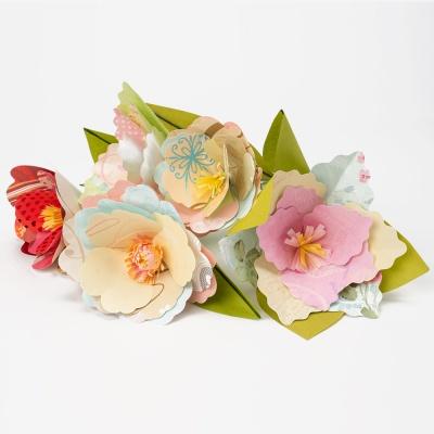 종이 꽃 만들기 3종