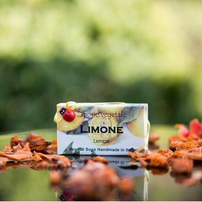 알키미아 천연수제비누 - 레몬(LEMON) 상큼하고 프레쉬한 향 무당벌레비누