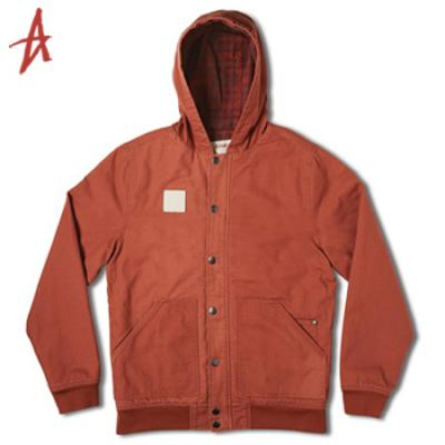[Altamont] SWEEP JACKET (Rust)