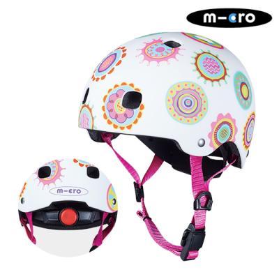 마이크로킥보드 아동용 헬멧 디럭스 V2 두들스팟 M
