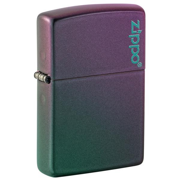ZIPPO 49146ZL Classic Iridescent Zippo Logo