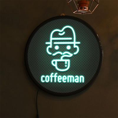 no661-LED액자35R_커피맨