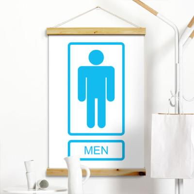ch979-우드스크롤_60CmX90Cm-남녀표시