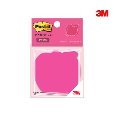 3M 포스트잇 사과 모양