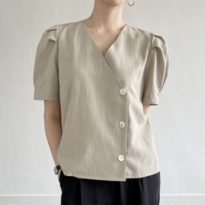 Linen Puff Jacket Shirts