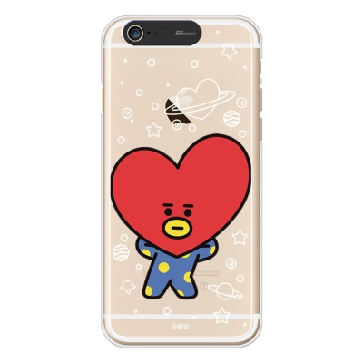BT21 iPhone6/ iPhone6 Plus 타타 라이팅 케이스 (Soft)