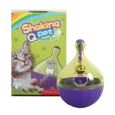 쉐킹 아이큐 스낵볼 퍼플 고양이훈련장난감 호기