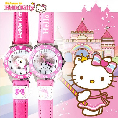 [Hello Kitty] 헬로키티 HK-010 시리즈 아동용시계 [본사정품]