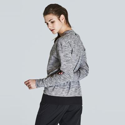 [TS7054 멜란지그레이]여성 런닝복 겸용 서플렉스 긴팔 요가복