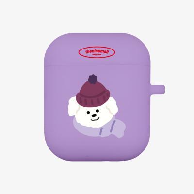 겨울뽀꾸 에어팟 케이스 [purple]