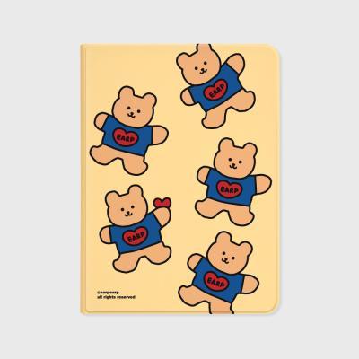 Bear heart-creamyellow(아이패드-커버)