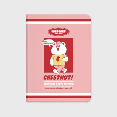 Hello chestnut-pink(아이패드-커버)