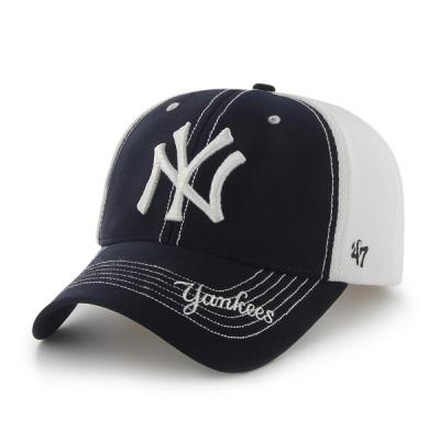 47브랜드 MLB모자 뉴욕 양키즈  플렉스 메쉬