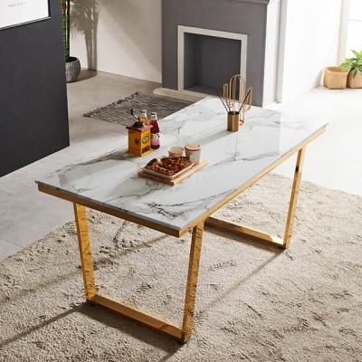 베르나 1500 4인 대리석식탁 테이블