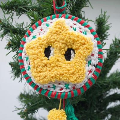 펀치니들 크리스마스 작은별 DIY 키트
