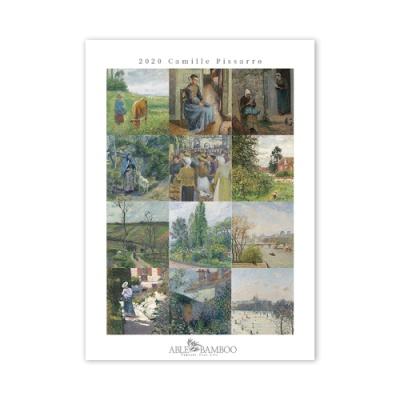 [2020 명화 캘린더] Camille Pissarro 피사로 Type B