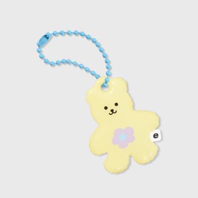 Blossom bear friends-yellow(PVC키링)