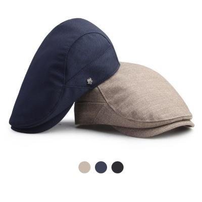 [디꾸보]아이언 엠블럼 헌팅캡 플랫 모자 HN647